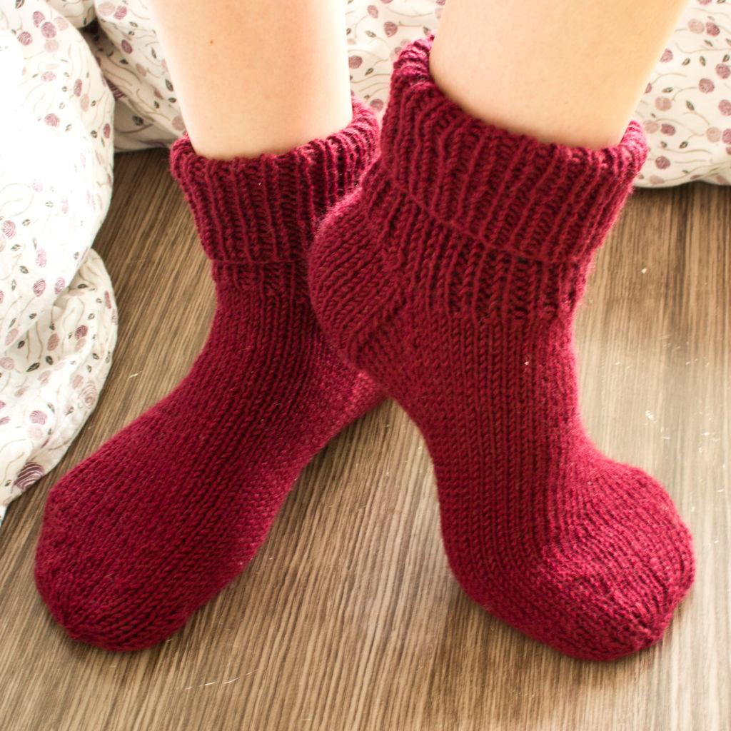 Erste Socken