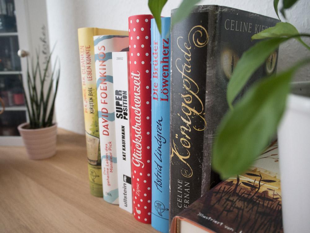 Meine gelesenen Bücher.