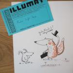 Bild 2 aus dem Illumaten: Fuchs trifft Hase.