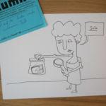 Bild 5 aus dem Illumaten: Marit auf der Suche nach der verlorenen Zeit.